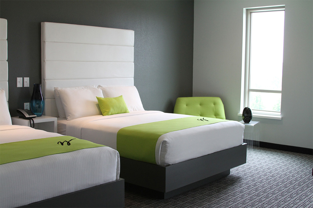 Two-bed room at The Wallhouse Hotel