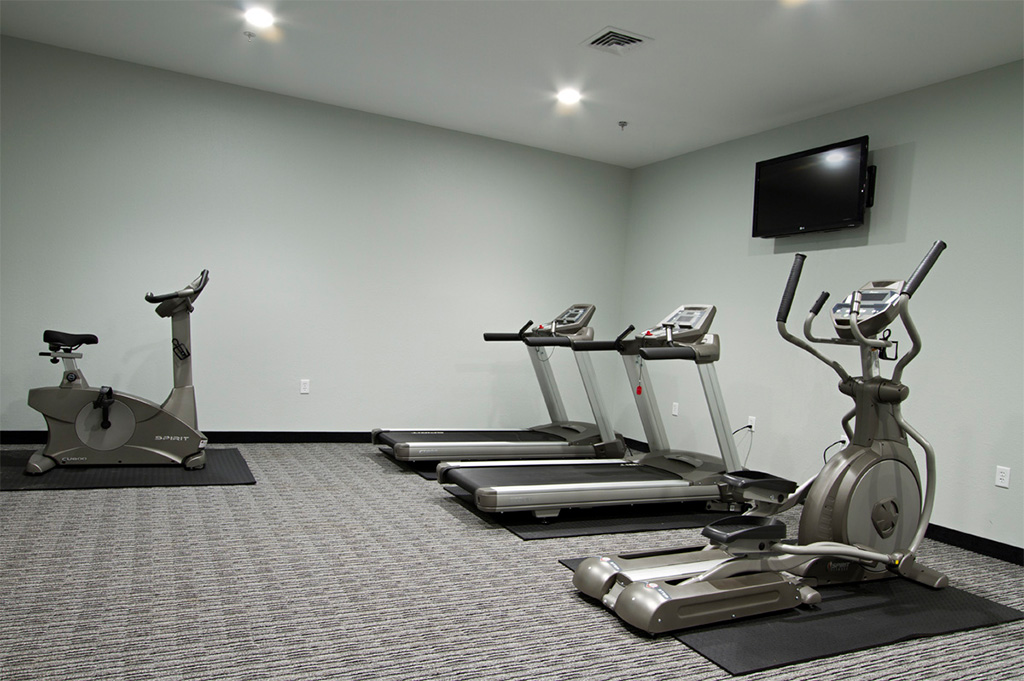 Fitness gym at The Wallhouse Hotel